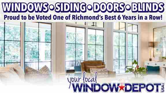 Voted one of Richmond's Best - 6 years in a row!