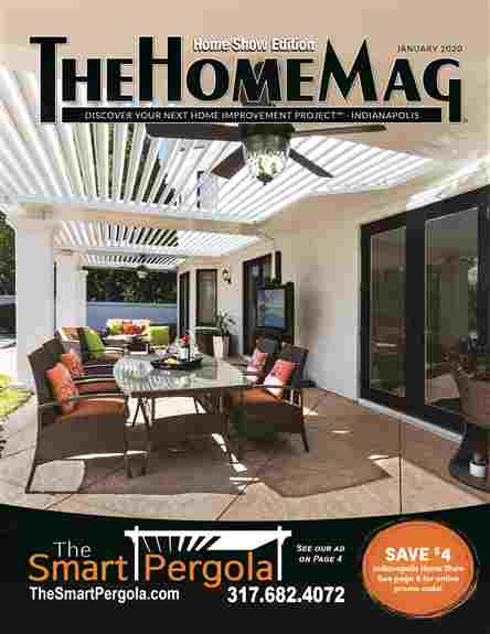 The Smart Pergola featured on our January 2020 cover.