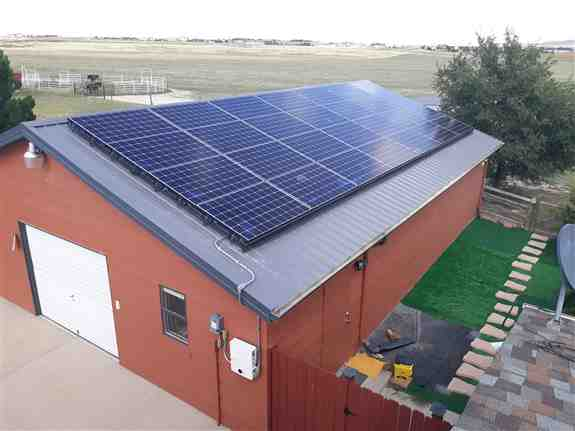 A beautiful 80+ kilowatt system installed in Colorado. Harnessing the power of the sun!