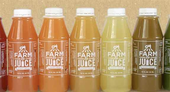 We have a wide selection of juices.