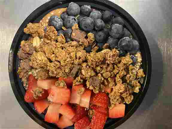You will love our Acai Bowls.