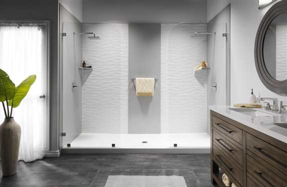 We are loving our beautiful line of Luxury Baths. From Walk-In's to a full tub/shower combo, we have it all!