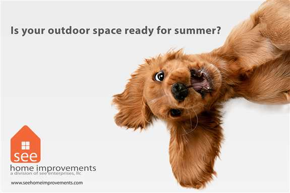 Are you ready to enjoy your patio this summer?