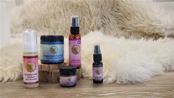 Our organic facial care line is full of super fruit nutrients to give you skin a more youthful appearance and healthy glow. Deeply nourishing and amazing for all skin types.
