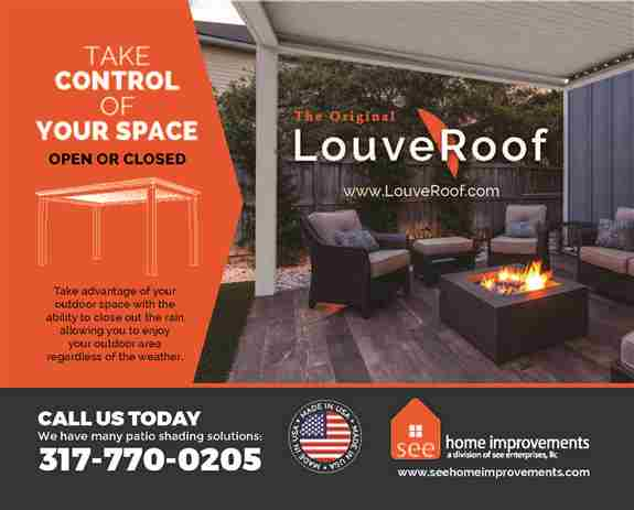 The Original LouveRoof. Take control of your outdoor space.