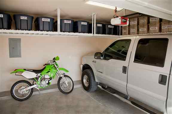 Multiple configurations to fit any garage.