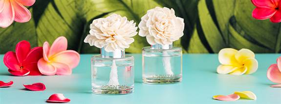 Our Fragrance Flowers make wonderful gifts.  Very elegant look with a great scent throw. And only $16.
