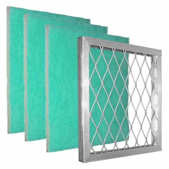 Buy 3 Green Screens your filter sizes and get the lifetime aluminum frame FREE!  Must call in for Special if can't come to a show we are at!
